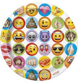 "Emoji 9"" Plate 8 CT"