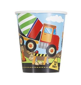 Construction Party Cups 8 CT
