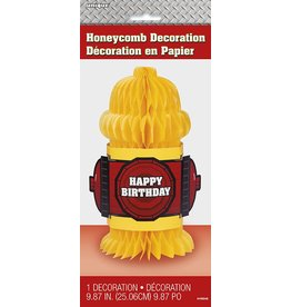 Fire Hydrant Honeycomb Decoration
