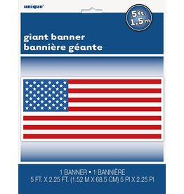 Giant USA Flag Banner
