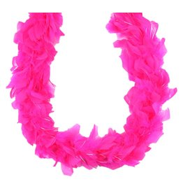 Mini Irridescent Boa Hot Pink