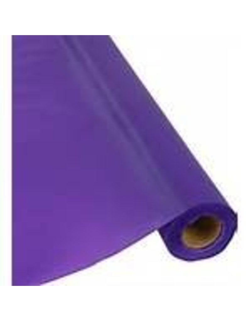 300'  TABLE COVER PURPLE