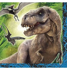 Jurassic World Beverage Napkin 16 CT
