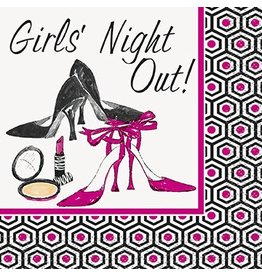 Girls Night Out Beverage Napkin 16 CT