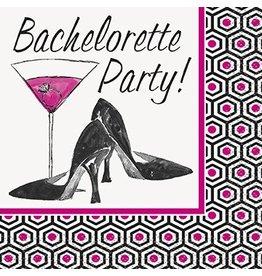 Bachelorette Party Beverage Napkin 16 Ct