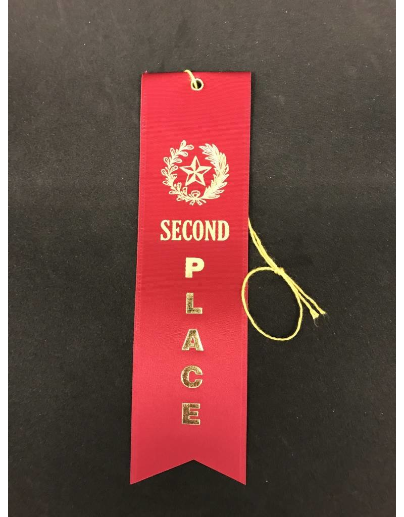2nd Place Stock Ribbon