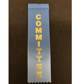Committee Stock Ribbon