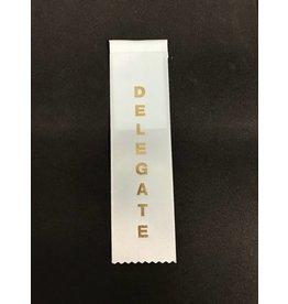 Delegate Stock Ribbon