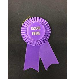 Grand Prize Short Rosette Ribbon