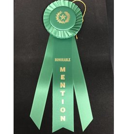 Honorable Mention Long Rosette Ribbon