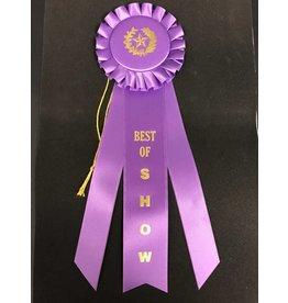 Best of Show Long Rosette Ribbon