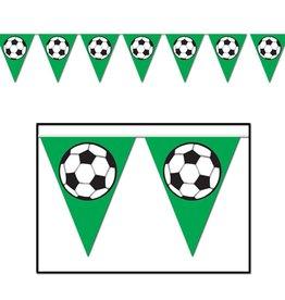 Soccer Pennant Banner