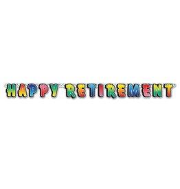 Retirement Jointed Streamer