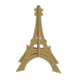 Eiffel Tower 3D Glitter Center Piece