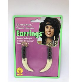 Cave Woman Earrings