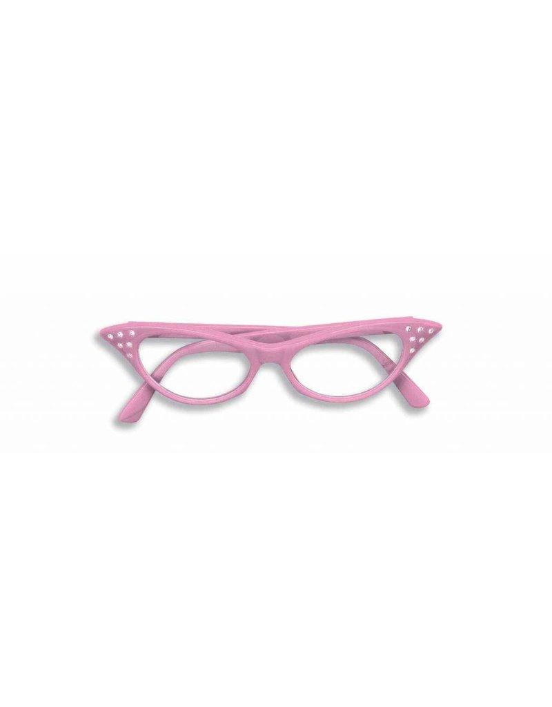 50's Glasses Pink