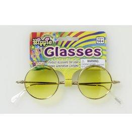 Hippie Glasses Yellow