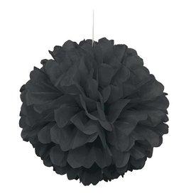Black Puff Ball