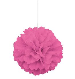 Candy Pink Puff Ball