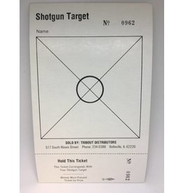One Set Shotgun Targets