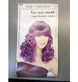 Fave Wave Purple Wig