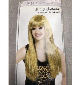 Glitzy Glamour Wig Gold