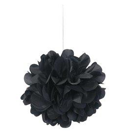 Mini Puff Tissue Deco 3 count Black