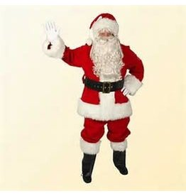 Regal Red Velvet Santa-Large