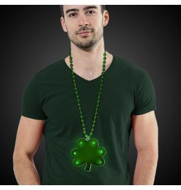 Green Shamrock Bead Lite Up