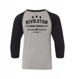 REVOLUTION C TOWN YOUTH RAGLAN N/L