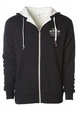 REVOLUTION C TOWN SHERPA ZIP UP HOODIE