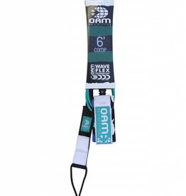 OAM OAM 6' COMP LEASH TEAL