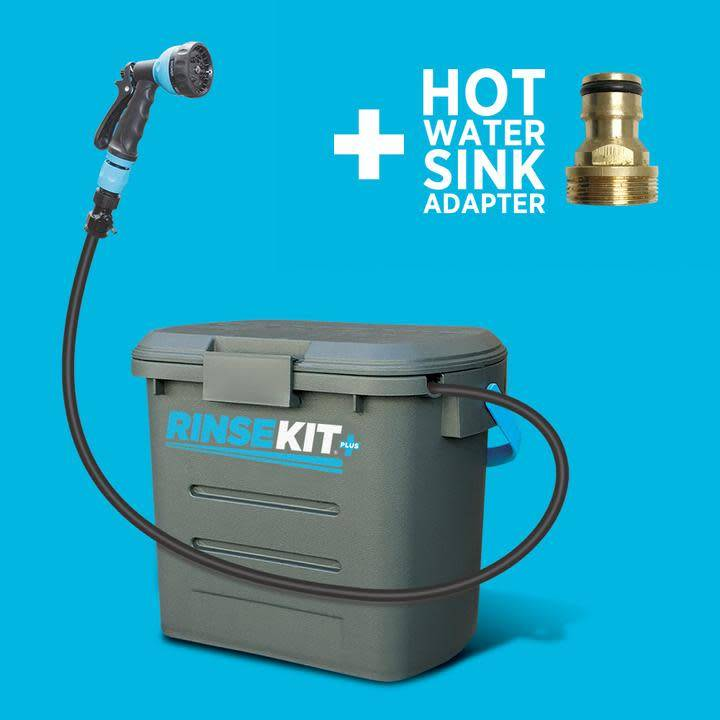 RINSE KIT PLUS 2 GALLON WITH DUAL ACCESORY PORTS