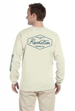 REVOLUTION SC SCRIPT L/S TEE