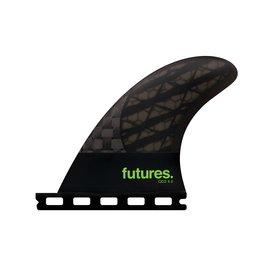 FUTURES QD2 4.0 BLACKSTIX 3.0 QUAD REARS SMK/BLK