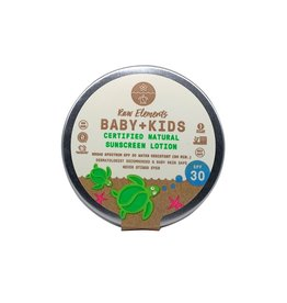 RAW ELEMENTS BABY + KIDS TIN SPF 30