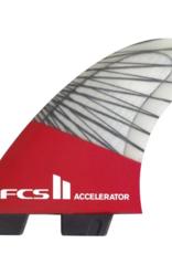 FCS FCS2 ACCELERATOR PC CARBON RED MEDIUM