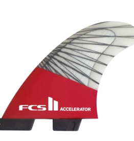 FCS FCS2 ACCELERATOR PC CARBON RED MEDIUM