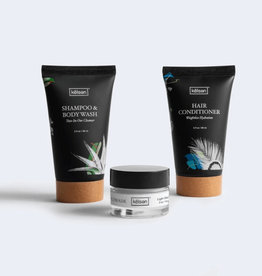 Kelsen Travel Kit: Pomade, Shampoo/Body Wash, Conditioner