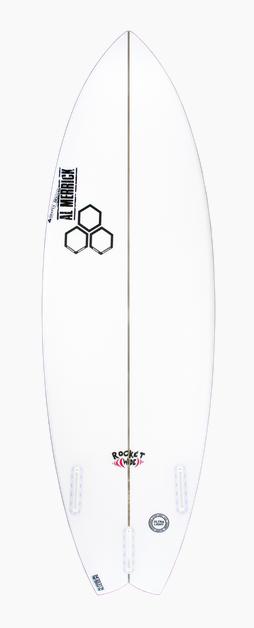 CHANNEL ISLANDS SURFBOARDS 5'5 ROCKET WIDE FCSII