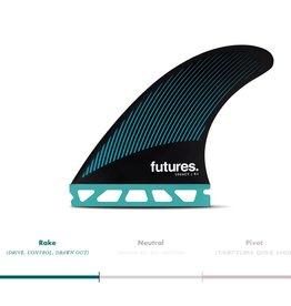 FUTURES R8 HC THRUSTER - TEAL/BLACK