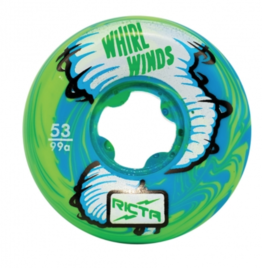 RICTA 53MM WHIRLWINDS BLUE GREEN