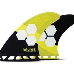 FUTURES AM2 HC THRUSTER YELLOW/BLACK