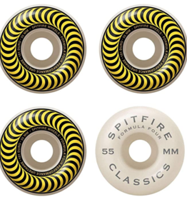 SPITFIRE F4 101 CLASSIC YELLOW 55MM