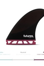 FUTURES P8 HC THRUSTER - BURGUNDY/BLACK