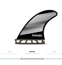 FUTURES F4 HC THRUSTER - GRAY/BLACK