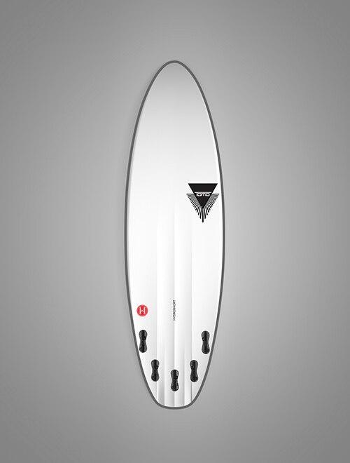 FIREWIRE SURFBOARDS 5'8 HYDROSHORT FUTURES