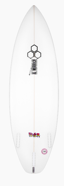 CHANNEL ISLANDS SURFBOARDS 5'11 FEVER FUTURES SQSH