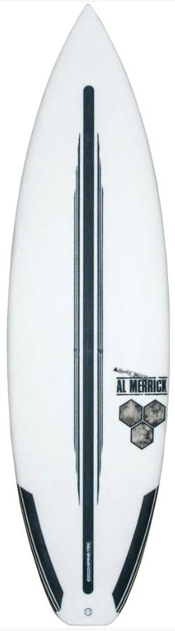 CHANNEL ISLANDS SURFBOARDS 6'0 FEVER SPINE TEK FUTURES