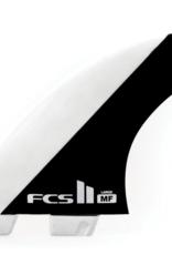 FCS FCS2 MICK FANNING PC WHITE BLACK TRI LARGE